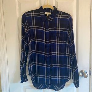 Lucky Brand Lightweight Flannel